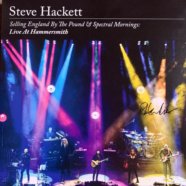 Takes me right back to the gig in Edinburgh Last year, fantastic recording both the Vinyl and included CD, great lineup with special mention to Nad Sylvan, Craig Blundell and of course Mr Hackett himself. A must for any Genesis or Steve Hackett fans.   #ayonaudio #audio #lovemusic #speakers #audiophile #hifi #stereo #streaming #roon #tidal #qobuz #loudspeaker #cdplayer #audioporn #highendaudio #dsd #hifiaudio #audiophiles #enjoymusic #luxuryaudio #highfidelity #stereophile #sharemusic #hifisound #highendhifi