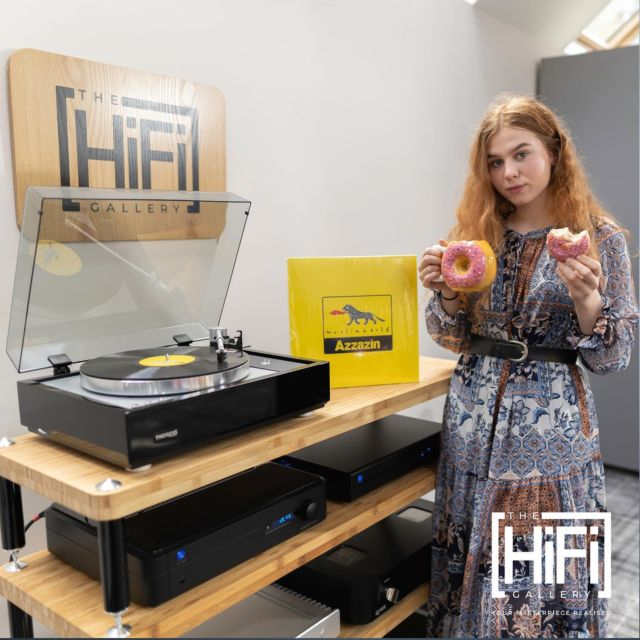 The Donut Azzazin...  Visit our website http://www.thehifigallery.co.uk if you want to discuss what The Hifi Gallery can do for you, please contact us on 01592 377163 or email: paul@thehifigallery.co.uk  #audio #lovemusic #audiophile #hifi #stereo #audioporn #highendaudio #hifiaudio #audiophiles #enjoymusic #luxuryaudio #highfifelity #stereophile #sharemusic #hifisound #vinyl #phonostages #vinylrecords #highendrecordplayers #musicgirl #gingergirl #redhead #boystoys #art #amazing #repost