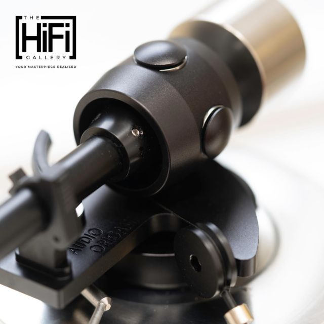"""The wonderful 12"""" Audio Origami PU7 tonearm in black, hear your records as they were intended to be heard.  Call for info, or to audition, or if you want to discuss what The Hifi Gallery can do for you, please contact us on 01592 859163 or email paul@thehifigallery.co.uk  Visit our website http://www.thehifigallery.co.uk  #audiorigami #lovemusic #audiophile #hifi #stereo #audioporn #highendaudio #hifiaudio #audiophiles #enjoymusic #luxuryaudio #highfifelity #stereophile #sharemusic #hifisound #vinyl #phonostages #vinylrecords #highendrecordplayers #boystoys #art #amazing #repost"""