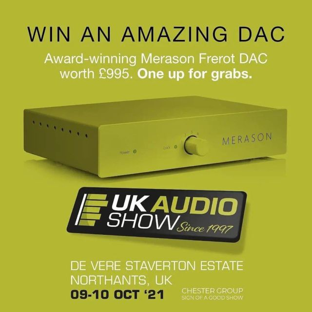 At this weekend Audio Show UK, Whole Note Distribution are  offering a chance to win the outstanding #Merason #Frerot #DAC (one up for grabs) with a free #prizedraw taking place at the UK Audio Show. It is also an opportunity to support their chosen charity @theyardscotland. The Yard is a Scottish charity supporting disabled children, young people and their families by creating opportunities for inclusive adventure play. @ukaudioshow   To enter:  1. In person at the Audio Show UK. Find them in room 33 & The Oxford Suite.  2. Via email to info@wholenotedistribution.co.uk - providing email / fullname / tel number.  There's a suggested (optional) donation to enter of £2.50 and if you wish to make this donation please let us know and we will facilitate.   The draw will take place at 12.00 on Sunday 10th October. Good luck!   NOTE: Prize draw open to UK residents only.  #ukaudioshow #hifishow #audioshow #show #shows #theyardscotland #uk #whatsnew #new #news #press #hifi #music #seeyouthere #dayout #daytrip #event #joinus #win #competition #prizedraw  Reposted from @wholenotedistribution